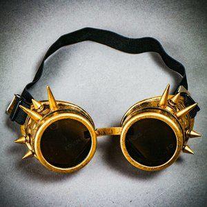 Steampunk Spikes Goggles Victorian Welding Cyber G